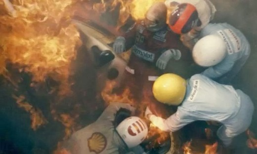 The film highlights just how dangerous Formula One was not that long ago, nor does it shy away from the extent of Lauda's injuries.