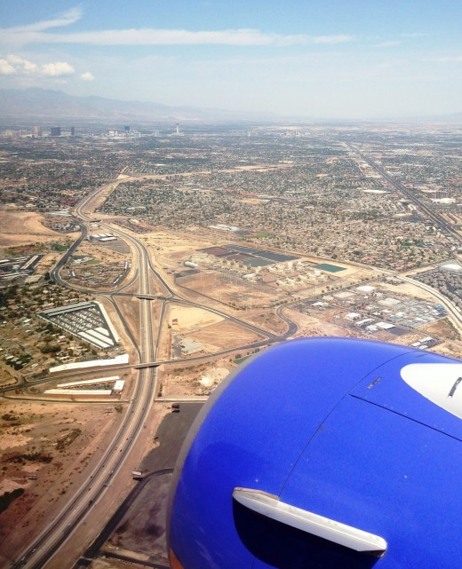 Coming In For a Landing in Las Vegas.