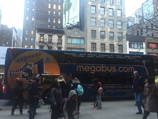 Me and MegaBus have logged many miles together.