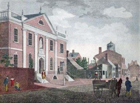 Artist's view of Franklin Public