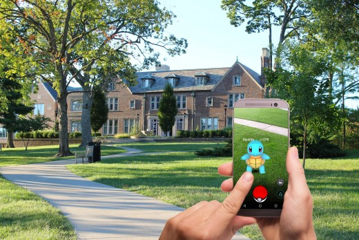Pokemon Go lets you use AR to capture pokemon in your actual setting