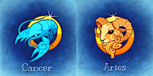 Horoscope Matching Cancer With Aries Love Compatibility Hubpages