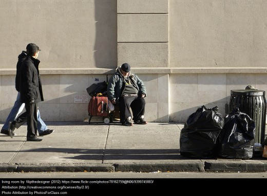 The tragedy that should not exist in a nation with rich resources: homelessness