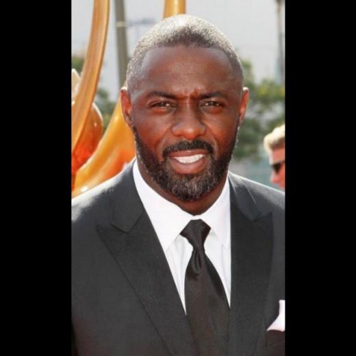 Tipped to be Bond:  Idris Elba.