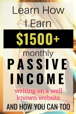 How to Make an Awesome Passive Income on HubPages