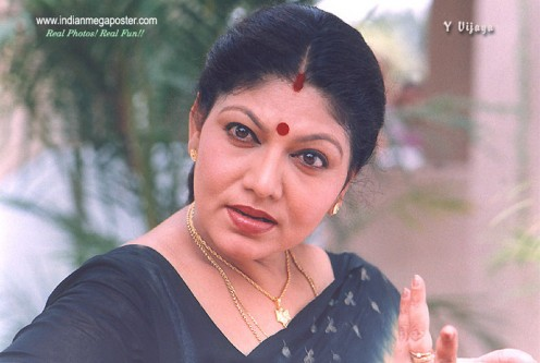 Sexy Pictures of Hot Tamil Vintage Mature Actress Y. Vijaya Image 4