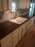 Wood Kitchen Counters on a Budget