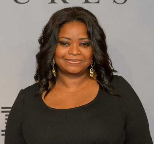 Octavia will play the famous business woman, known for her philanthropic endeavors