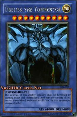 god cards yugioh: