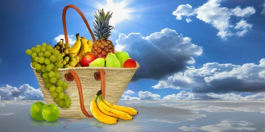 Fruits are rich in vitamins