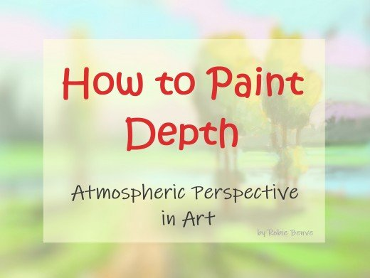 How do you represent distance and depth in art? Learn aerial perspective and tips on how to render the illusion of recession in painting.