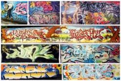 """Graffiti """"art"""" around the world"""