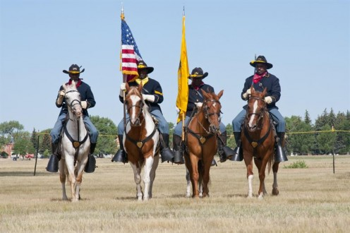 """Buffalo Soldiers made up the real """"F Troop."""""""