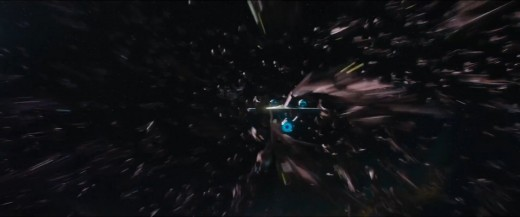The film's baddies feel too indistinct, a nano-bot version of the Borg, and CG can't properly replicate the countless numbers of alien ships on screen at once.