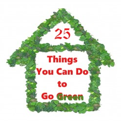 25 Easy Ideas for Living Green