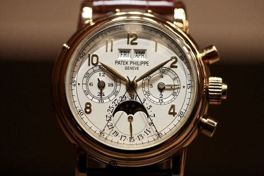 Patek Phillip Calender/Moonphase Chronograph