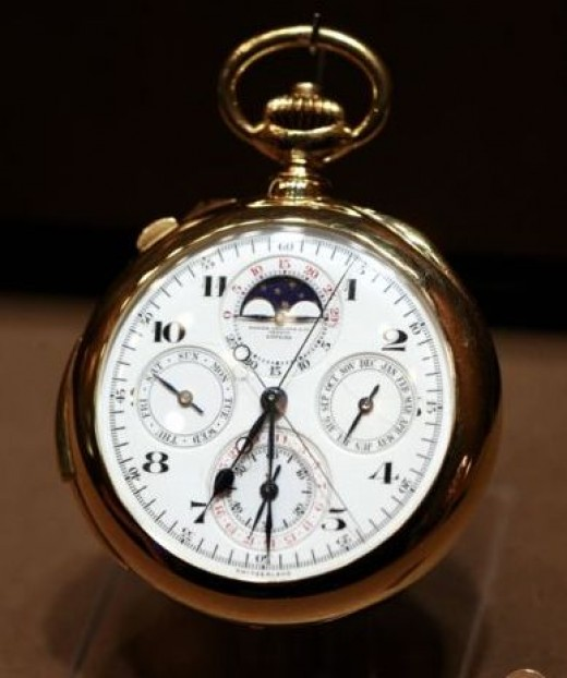George Thompson Pocket Watch by Patek Phillipe