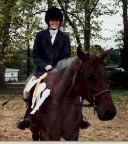 This is Frostline, the lesson horse I rode for years, first hated and then learned to love.