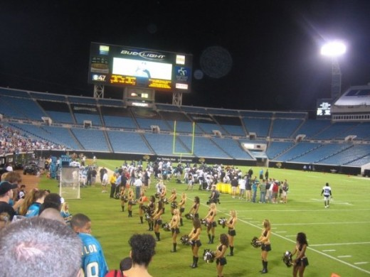 Friend took this at the Jacksonville Jaguar's Stadium