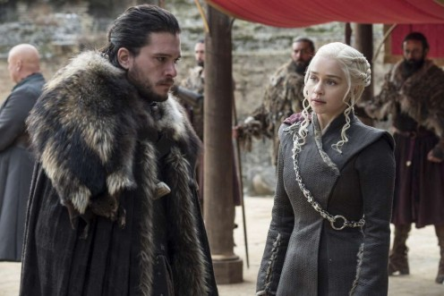 John Snow and the Mother of Dragons