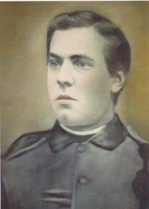 My paternal grandmother's father, Anton Riedelsperger.  Picture taken in Austria around 1870.