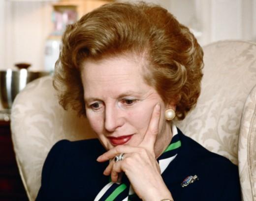 Thoughtful, tough, inspiring- much better descriptors of Mrs. Thatcher.