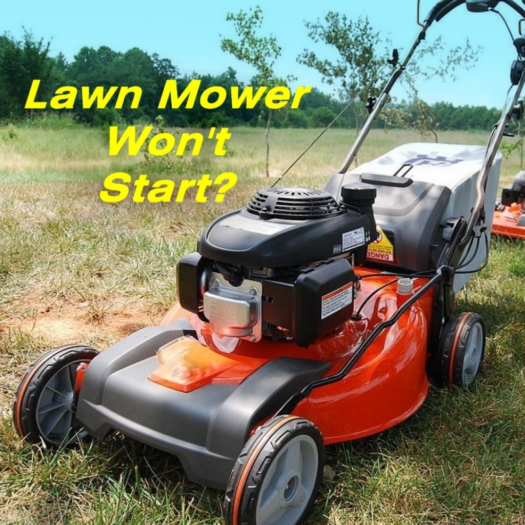 How To Fix A Lawn Mower That Wont Start Dengarden 400 John Deere Riding Wiring Diagram
