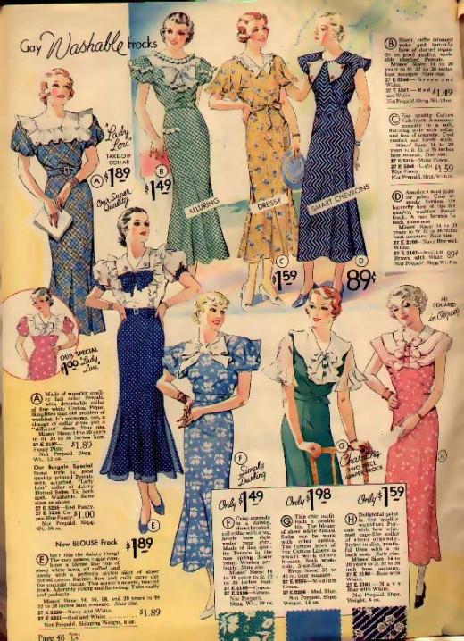 women's daywear