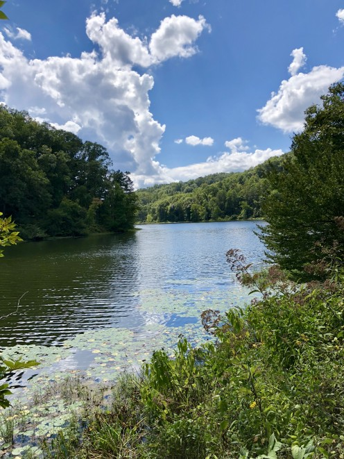 Camping in Ohio: Lake Vesuvius Pedro, Ohio