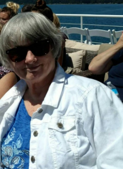 Me, getting a little sunshine on a harbor cruise.