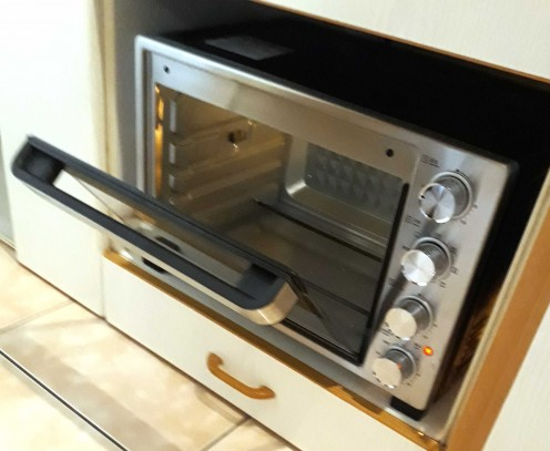 My new Panasonic Oven. This is not to brag, but to show you that great bread can be made in modest  equipment.