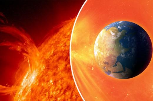 A blast felt around the earth.