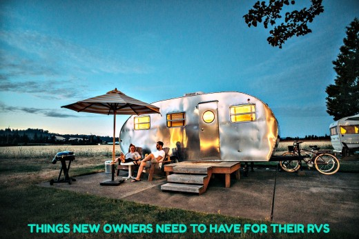 A guide for new RV owners that will help them to avoid buying things they don't need to have for their recreational vehicles.