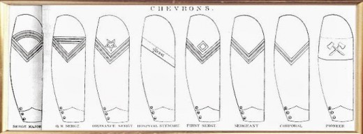 Non-Commissioned Officer Sleeve Chevrons