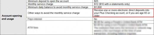 Pay attention to these kind of sections of your checking account agreement.