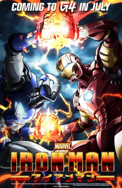 Anime Adaptions of Marvel and DC Comics