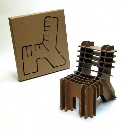 диван з картону - Мебель