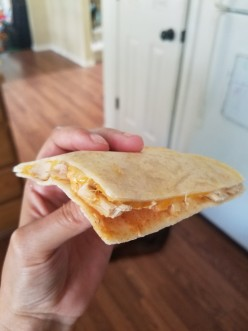 How to Make Taco Bell Chicken Quesadillas (With Jalapeño Sauce)!