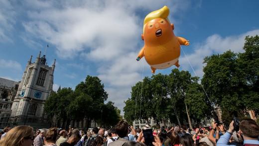 Spoof take on that balloon