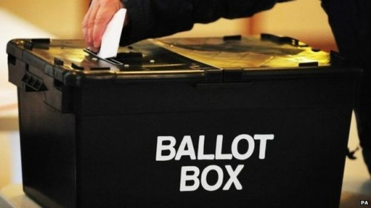 Voting at the ballot box in polling stations but is E Voting the future