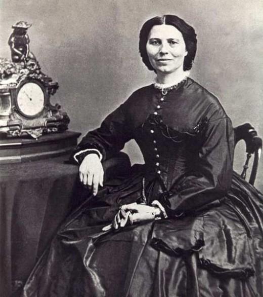 Clara Barton - a one-peson relief agency