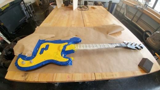 Making a Batman-Themed Bass Guitar | HubPages