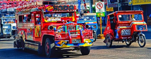 Colorful Jeepney