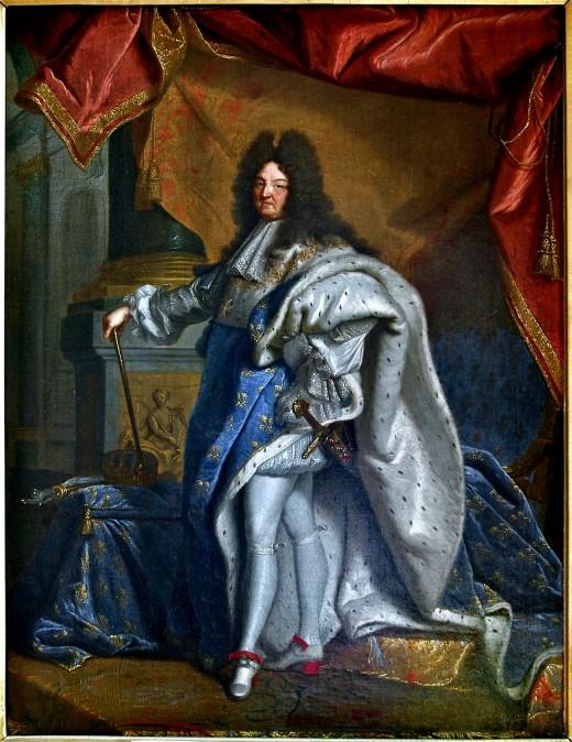 Louis XIV Rigaud Condé Chantilly