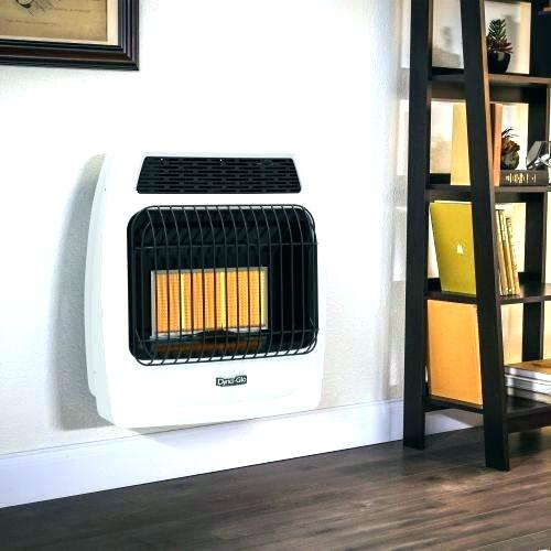 Plaque or radiant propane heater - ventless.
