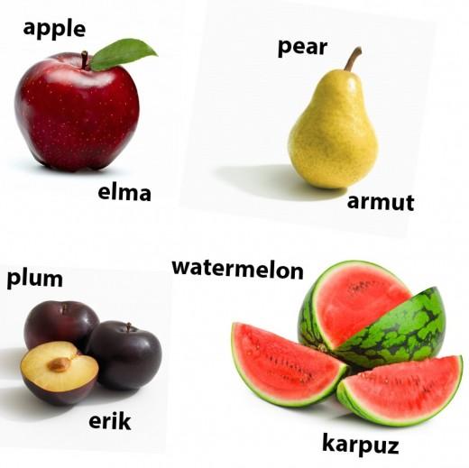 Some basic Turkish words...