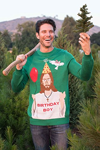 jesus is the birthday boy - Best Ugly Christmas Sweaters Ever