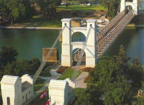 The Waco Suspension Bridge