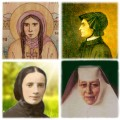 Four Female American Saints