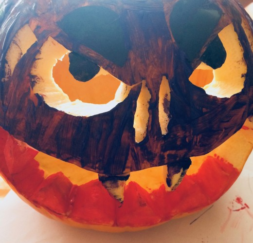 A Pumpkin Head